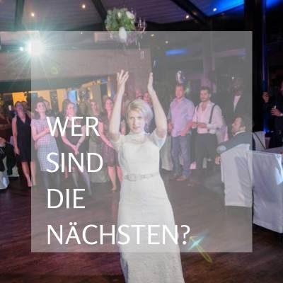 Brautstraußwurf Hochzeit