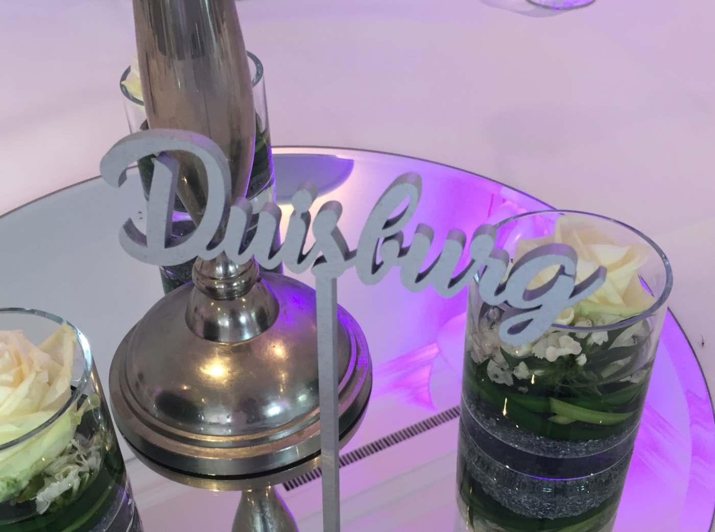 Duisburg Hochzeitsmenu
